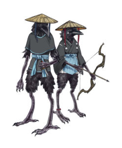 My Kenku Dungeons and Dragons Characters